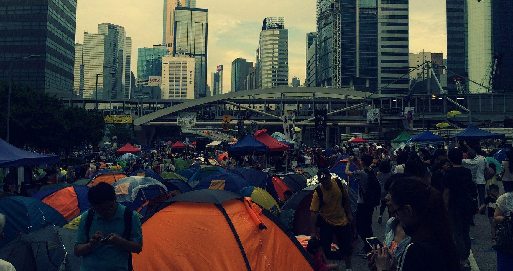Čína zaútočila kvôli protestom v Hongkongu na Telegram